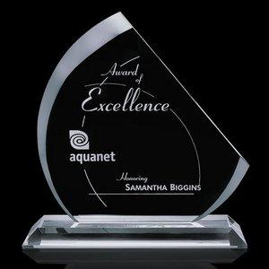 Nantucket Starfire Glass Award  8.5 in.