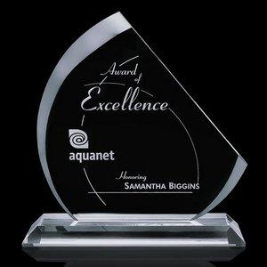 Nantucket Starfire Glass Award 11in