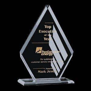 Canton Crystal Award - Starfire Crystal 6 3/4in.