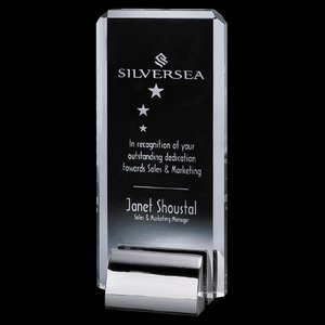 Annapolis Award - Starfire/Chrome 8 in.
