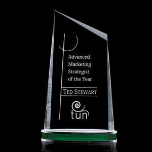 Preston Award - Starfire/Alum/Green 9?in