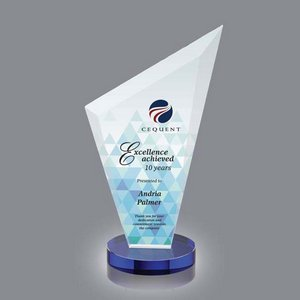 VividPrint Full Color Award - Condor/Blue 10 in