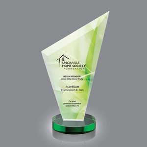VividPrint Full Color Award - Condor/Green 10 in