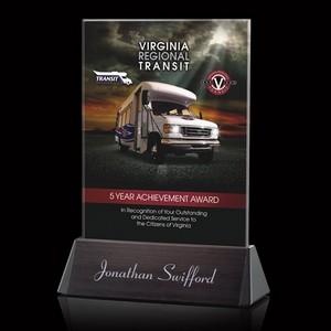 VividPrint Custom Full Color Award - Sierra Rectangle