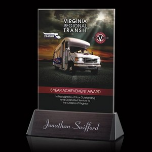 VividPrint Custom Full Color Award - Sierra Rectangle