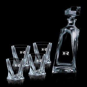 Bonhan Decanter and 4 On-the-Rocks Glases