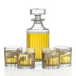 Bacchus Decanter and 4 On-the-Rocks