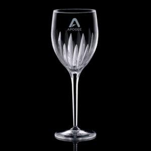 Orabella Wine Glasses Engraved - 9oz Crystalline