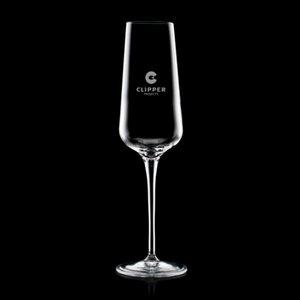 Madras Champagne Flute - 8oz Crystalline