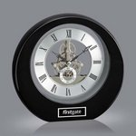 Catarina Clock - Black 8in.