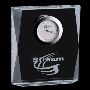 Glencairn Clock - Optical Crystal 4.5 in.