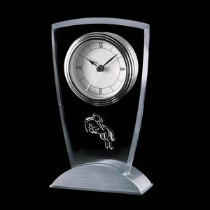 Picadilly Clock - Aluminum Base 7 in.