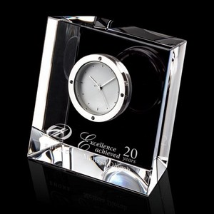 Genoa Clock - Optical 3-1/8 in  Wide