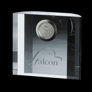 Fairmont Optical Crystal Clock