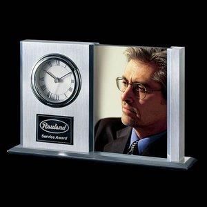 Dodsworth Frame Clock - Aluminum 8.5 in.