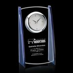 Billingham Clock - Starfire/Blue 8 in.