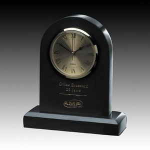 Marble Clock - 7 in. Arch