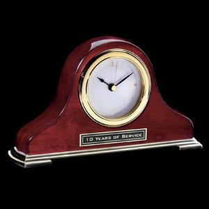 Matheson Clock - Rosewood/Gold