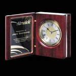Academy Clock - Rosewood 5.5 in.