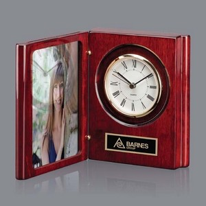 Academy Clock - Rosewood 6?in