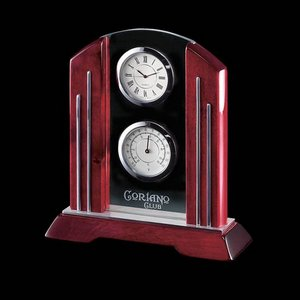 Regency Clock (2 Face) - Rosewood 7.5 in.