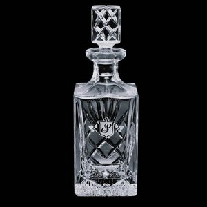 Cavanaugh 28oz Crystal Square Decanter