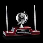 Simplex Globe/Penholder - Optical/Starfire 8 in. Wide