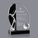 Wadsworth Golf Award - Optical/Black 6 in