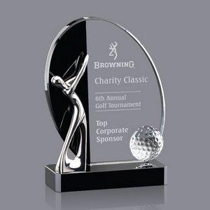 Wadsworth Golf Award - Optical/Black 6 in