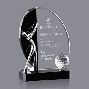 Wadsworth Golf Award - Optical/Black 7 in