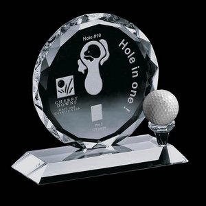 Nashdene Golf Award - Optical 6 in.