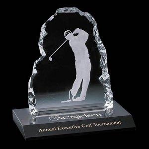 Male Golfer Iceberg Award - 7 in. Male