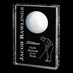 Pennington Golf Award - Optical 6 in.x8 in.