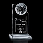 Ashfield Golf Award - Optical 6 in.