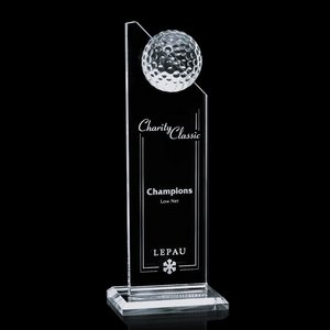 Ashfield Golf Award - Optical 10 in.