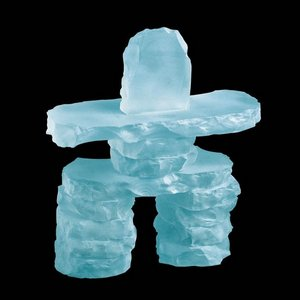 Inukshuk - Frosted 9 in.
