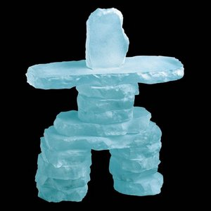 Inukshuk - Frosted 10.5 in.