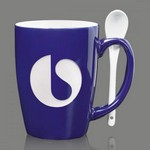 Winfield Engraved Coffee Mug & Spoon