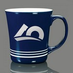 Churchill Striped Coffee Mug