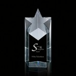 Star Tower Optical Crystal Award