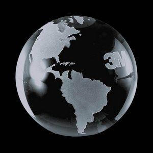 Globe Paperweight - Optical 2-3/8 in.