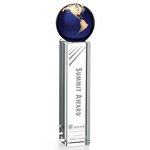 Luz Globe Award - Blue
