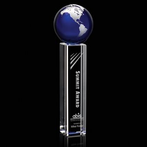 Luz Globe Award - Optical/Blue/Silver 13 in