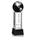 Luz Globe Award - Black with Base