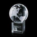 Globe on Cube