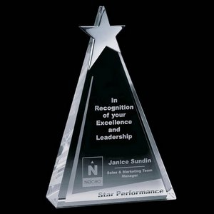 Eglinton Star Award - Optical/Chrome 6.25 in.