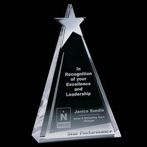 Eglinton Star Award - Optical/Chrome 10 in.