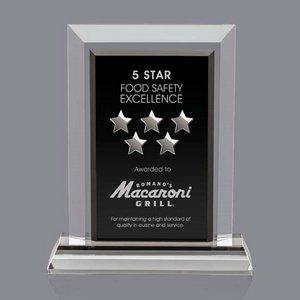Holloway Award - Optical/Black 7in.x9in.