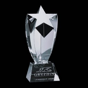 Crestwood Star Award - Optical 9 in.