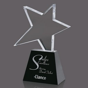 Falcon Star Award - Optical/Black 8 in.